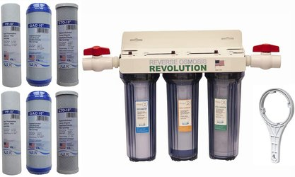 Reverse Osmosis Revolution Whole House Water Filter System