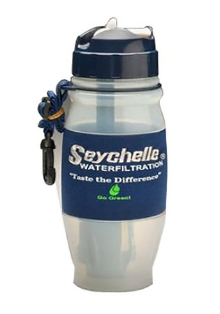 seychelle water bottle with filtration system
