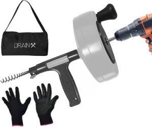 DrainX-Power-Pro-50-FT-Steel-Drum-Auger