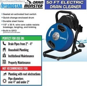 Hydrostar-Electric-Drain-Cleaner